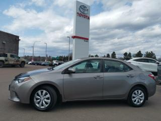 Used 2016 Toyota Corolla LE for sale in Moncton, NB