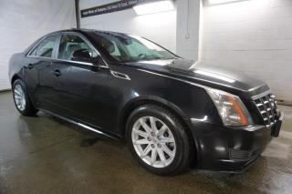 Used 2012 Cadillac CTS PREMUIM AWD CERTIFIED 2YR WARRANTY PANO SUNROOF BLUETOOTH HEAT LEATHER ENGINE REMOTE START for sale in Milton, ON