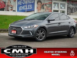 Used 2018 Hyundai Elantra GL Auto  CAM HTD-SEATS HTD-S/W 16-AL for sale in St. Catharines, ON