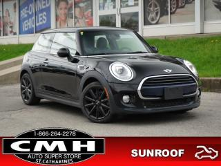 Used 2016 MINI 3 Door Base  NAV ROOF LEATH HTD-SEATS 17-AL for sale in St. Catharines, ON