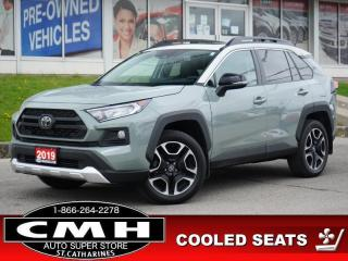 Used 2019 Toyota RAV4 AWD TRAIL  CAM ROOF LEATH P/SEAT HTD-SEATS 19-AL for sale in St. Catharines, ON