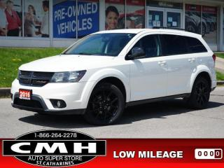 Used 2016 Dodge Journey Limited  P/SEAT HTD-SEATS 7-PASS REM-START 19-AL for sale in St. Catharines, ON
