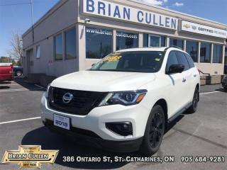 Used 2018 Nissan Pathfinder Midnight Edition  - Low Mileage for sale in St Catharines, ON