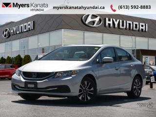 Used 2014 Honda Civic Sedan EX  - $111 B/W for sale in Kanata, ON