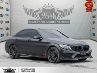 Used 2017 Mercedes-Benz C-Class SOLD, SOLD, SOLD .......AMG C 43, AWD, NAVI, 360CAM, PANO, B.SPOT, RED INT for sale in Toronto, ON