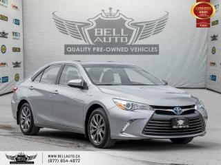 Used 2015 Toyota Camry HYBRID XLE, NAVI, REAR CAM, SUNROOF, LEATHER, BLUETOOTH for sale in Toronto, ON