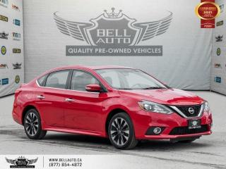 Used 2016 Nissan Sentra SL, NAVI, REAR CAM, SUNROOF, LEATHER, PWR SEAT for sale in Toronto, ON
