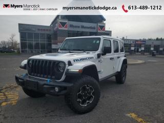 New 2021 Jeep Wrangler Unlimited Rubicon 4xe  - Dana Axles - $410 B/W for sale in Ottawa, ON