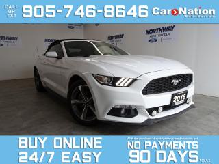 Used 2016 Ford Mustang CONVERTIBLE | V6 | REAR CAM | ONLY 36 KM! for sale in Brantford, ON