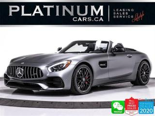 Used 2018 Mercedes-Benz AMG GT C ROADSTER, 550HP, MAGNO GREY, NIGHT PKG, NAV, CAM for sale in Toronto, ON