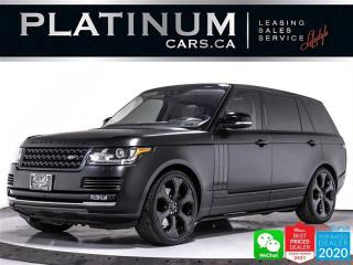 Used 2017 Land Rover Range Rover Supercharged LWB, 510HP, CAM, HUD, NAV, PANO for sale in Toronto, ON
