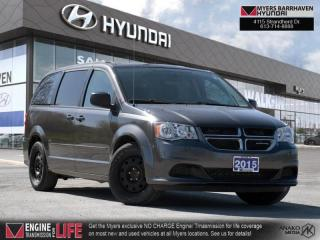 Used 2015 Dodge Grand Caravan SXT  -  Power Windows - $123 B/W for sale in Nepean, ON