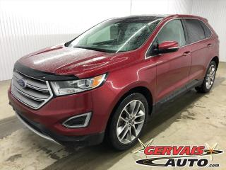 Used 2016 Ford Edge Titanium GPS AWD MAGS CUIR TOIT PANORAMIQUE for sale in Shawinigan, QC