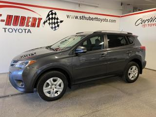 Used 2015 Toyota RAV4 AWD 4dr LE, BANCS CHAUFFANTS for sale in St-Hubert, QC