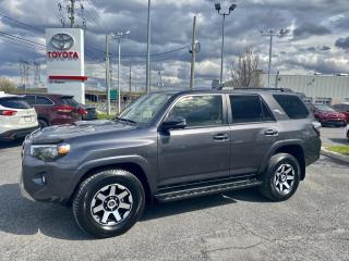 Used 2019 Toyota 4Runner 4WD, TRD OFF ROAD for sale in St-Hubert, QC