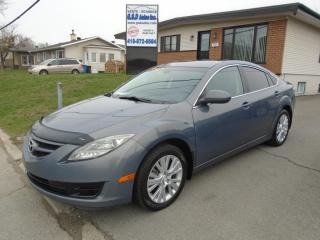 Used 2010 Mazda MAZDA6 for sale in Ancienne Lorette, QC