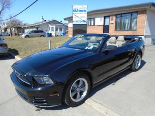 Used 2013 Ford Mustang Premium V6 for sale in Ancienne Lorette, QC