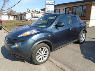 Used 2013 Nissan Juke AWD for sale in Ancienne Lorette, QC