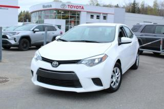 Used 2016 Toyota Corolla LE ECO berline 4 portes CVT for sale in Shawinigan, QC