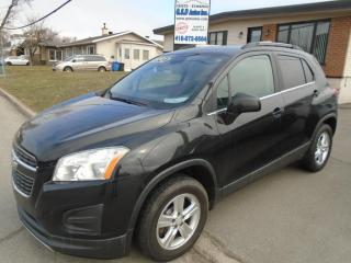 Used 2013 Chevrolet Trax LT for sale in Ancienne Lorette, QC