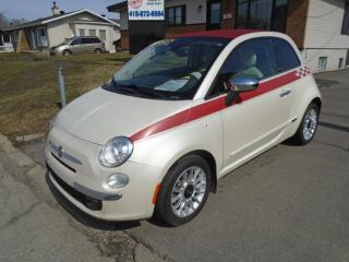 Used 2013 Fiat 500 Décapotable for sale in Ancienne Lorette, QC