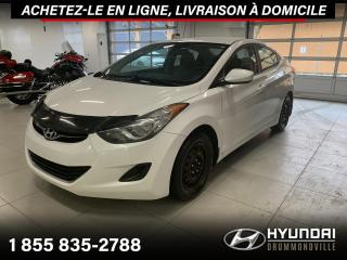 Used 2013 Hyundai Elantra GL + GARANTIE + A/C + CRUISE + WOW !! for sale in Drummondville, QC
