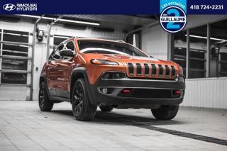 Used 2015 Jeep Cherokee 4WD Trailhawk chez Rimouski Hyundai for sale in Rimouski, QC
