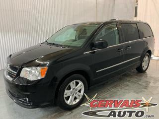 Used 2015 Dodge Grand Caravan Crew Stow N Go Mags Caméra Volant Chauffant *7 Passagers* for sale in Trois-Rivières, QC