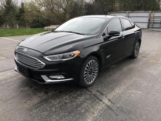 Used 2017 Ford Fusion ENERGI SE for sale in Cayuga, ON