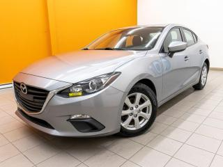 Used 2015 Mazda MAZDA3 GX BOUTON POUSSOIR USB CLIMATISEUR *100% APPROUVÉ* for sale in St-Jérôme, QC