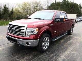 Used 2014 Ford F-150 Lariat Crew 4WD for sale in Cayuga, ON