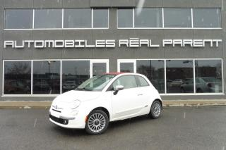 Used 2013 Fiat 500 LOUNGE - CONVERTIBLE - PNEUS HIVR ET ETE  - for sale in Québec, QC
