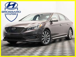 Used 2016 Hyundai Sonata Limited CUIR TOIT OUVRANT GPS BLUETOOTH for sale in Brossard, QC