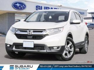 Used 2018 Honda CR-V EX-L - ONE OWNER - CLEAN CARFAX ! for sale in Sudbury, ON