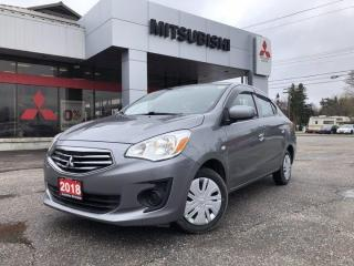 Used 2018 Mitsubishi Mirage G4 ES for sale in North Bay, ON