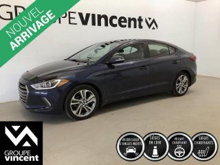 Used 2018 Hyundai Elantra GLS ** GARANTIE 10 ANS ** Berline fiable et économique! for sale in Shawinigan, QC