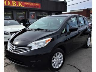 Used 2016 Nissan Versa Note CAMERA RECUL-BLUETOOTH-GR ELECTRIQUE-HB Man 1.6 SV for sale in Laval, QC