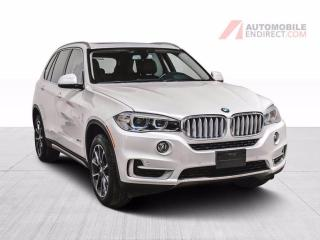 Used 2017 BMW X5 X DRIVE 35i CUIR TOIT PANO NAV HEAD UP DISPLAY  MA for sale in Île-Perrot, QC