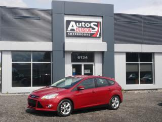 Used 2012 Ford Focus SE HATCHBACK + INSPECTÉ + CRUISE for sale in Sherbrooke, QC