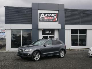 Used 2014 Audi Q5 2.0T QUATTRO S-LINE Progressiv + GPS + INSPECTÉ for sale in Sherbrooke, QC
