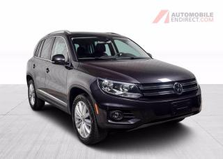 Used 2016 Volkswagen Tiguan HIGHLINE COMFORT 4MOTION CUIR TOIT GPS for sale in Île-Perrot, QC