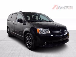 Used 2017 Dodge Grand Caravan SXT Premium Plus Cuir Stow N'Go TV/DVD A/C Mags for sale in St-Hubert, QC