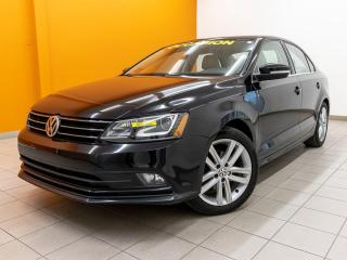 Used 2016 Volkswagen Jetta HIGHLINE ALERTES TOIT OUVRANT NAVIGATION *CUIR* for sale in Mirabel, QC