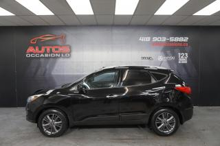 Used 2015 Hyundai Tucson GLS AUTO MAGS + CUIR TOIT PANO + CAMERA DÉMARREUR for sale in Lévis, QC