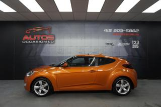 Used 2013 Hyundai Veloster MANUEL + MAGS SIÈGES CAMERA + BLUETOOTH 126 071 KM for sale in Lévis, QC