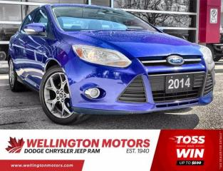 Used 2014 Ford Focus SE - Bluetooth - Accident Free - Sat. Radio for sale in Guelph, ON