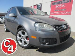 Used 2008 Volkswagen Golf GTI 2.0T TOIT MAG for sale in St-Jérôme, QC