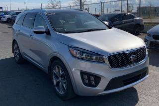 Used 2016 Kia Sorento SX AWD CUIR TOIT PANO NAV 7 PASS  MAGS for sale in St-Hubert, QC