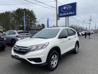 Used 2016 Honda CR-V Traction intégrale 5 portes LX for sale in Victoriaville, QC