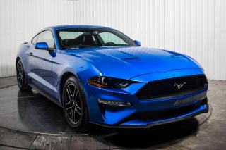Used 2020 Ford Mustang Premium EcoBoost Coupé A/C Mags Cuir GPS Caméra for sale in St-Hubert, QC